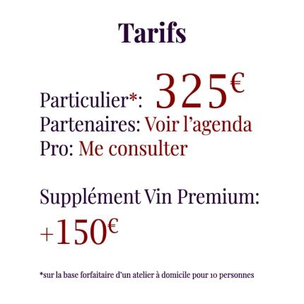 Tarifs325