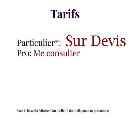 TarifsDevis